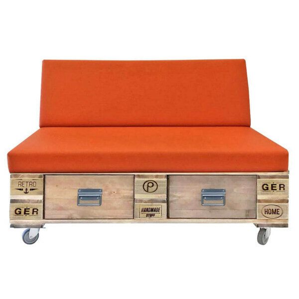 Outdoor-Paletten-Sofa